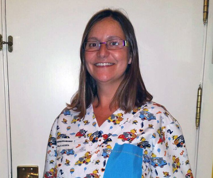 Dra. Bárbara Acosta especialista en oftalmología infantil y estrabología