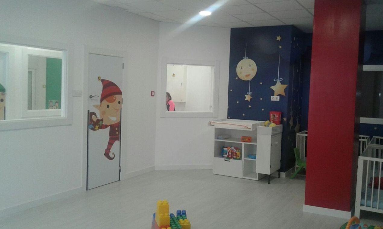 Reforma de habitación de escuela infantil