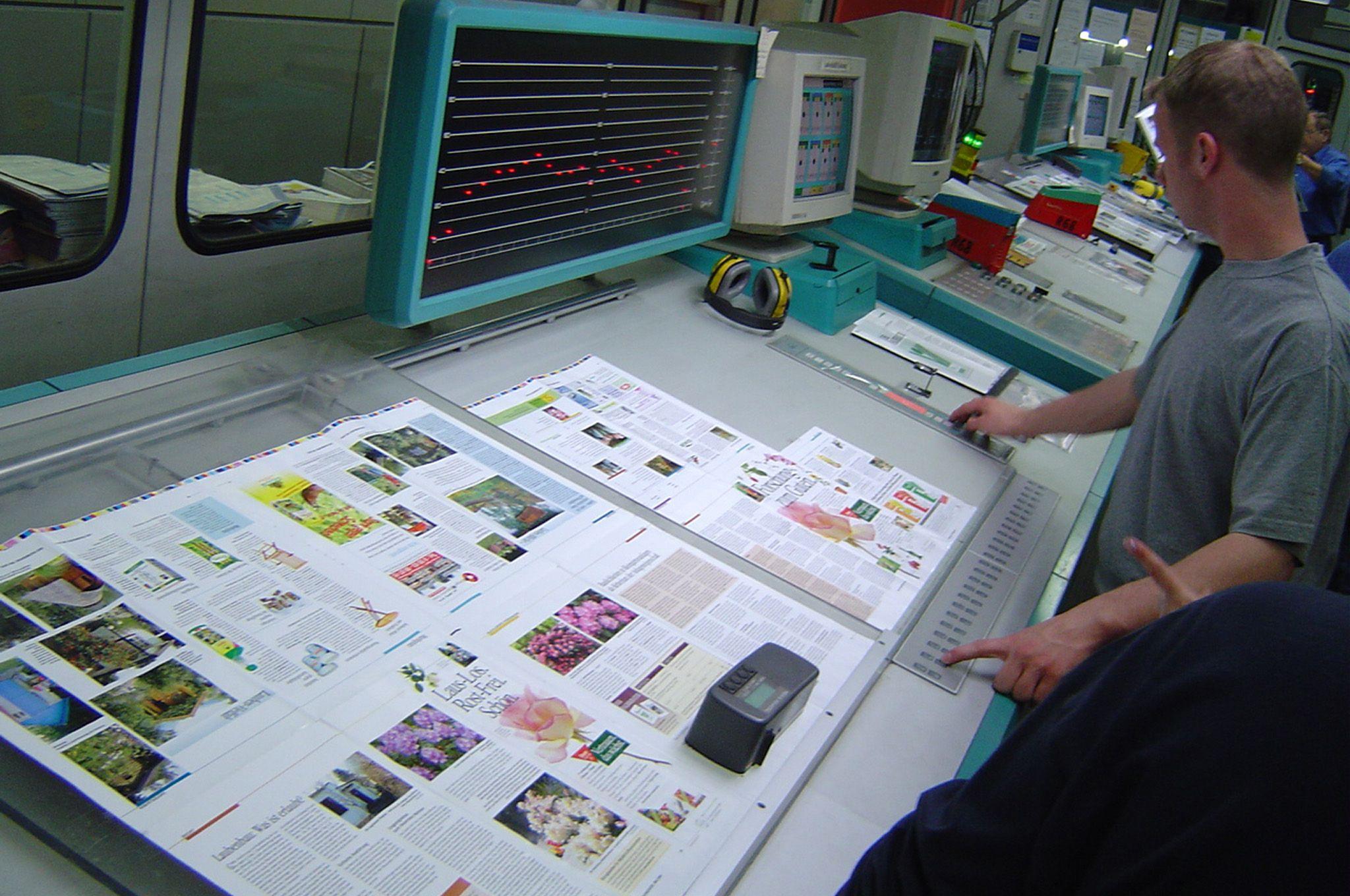 Impresión de catálogos y revistas