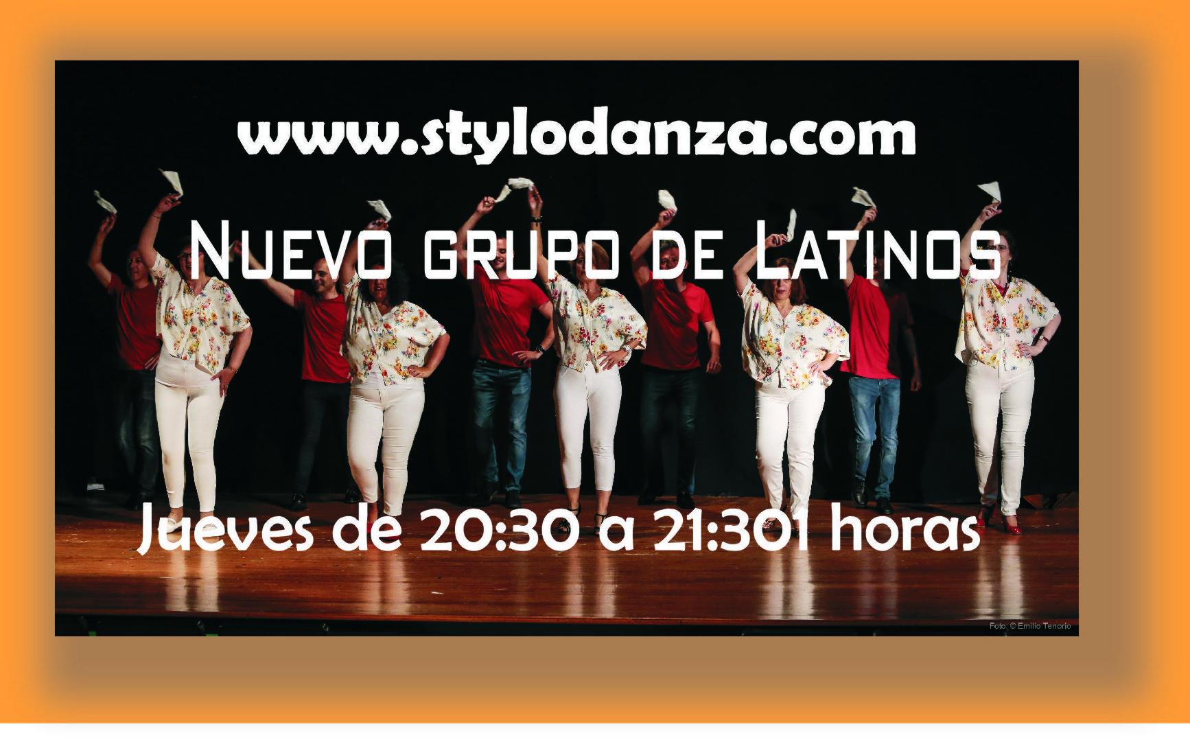 Curso de Latinos de iniciación, los jueves