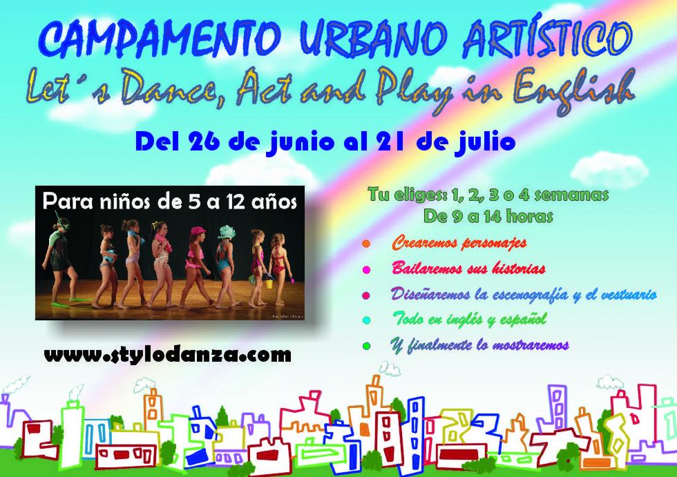 Campamento Urbano de baile y danza