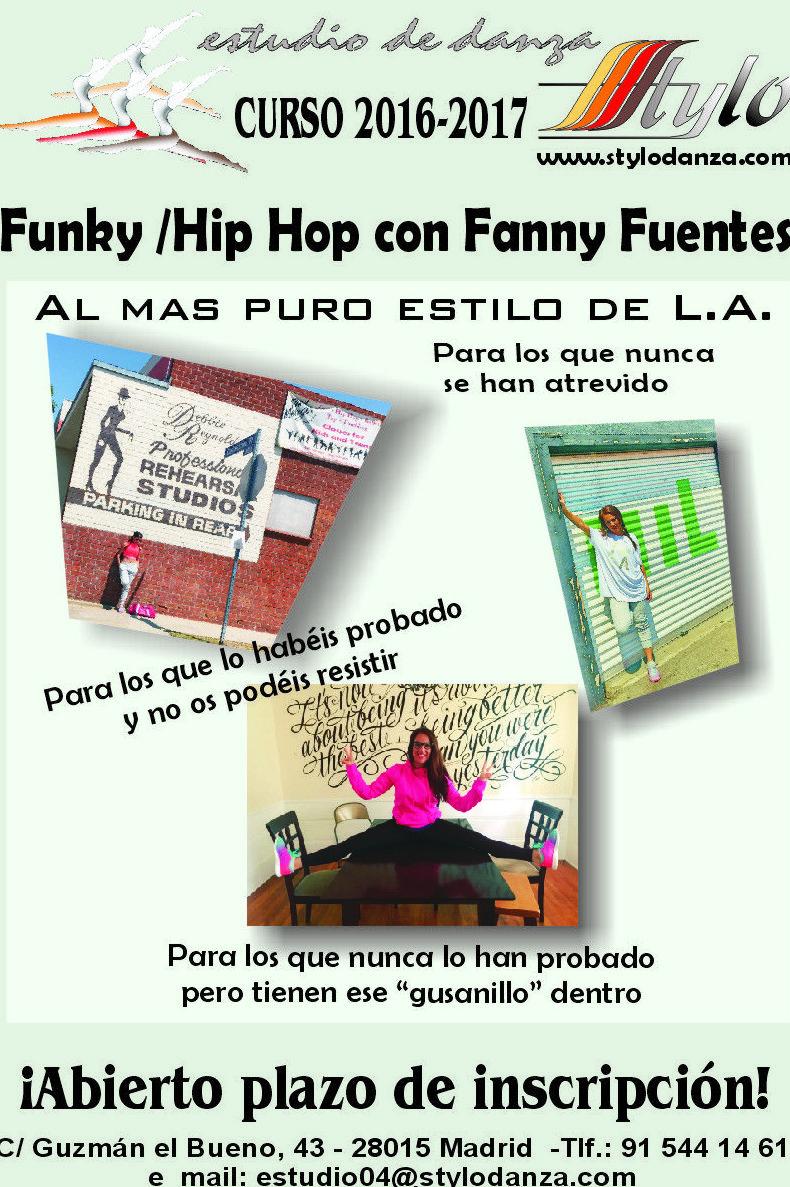 Lo último en Funky/Hip Hop con Fanny Fuentes