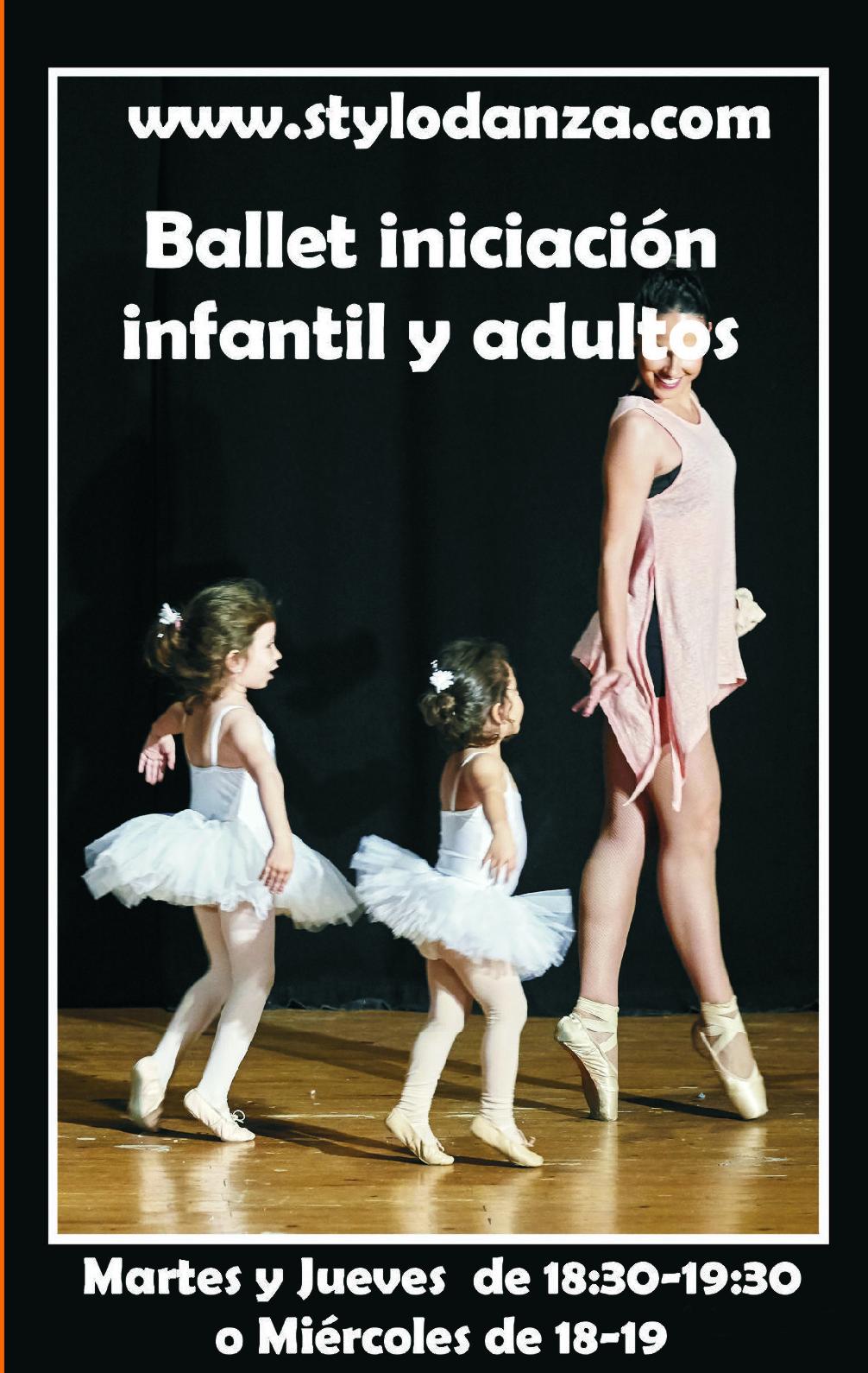 Clases de Ballet para niños y para adultos