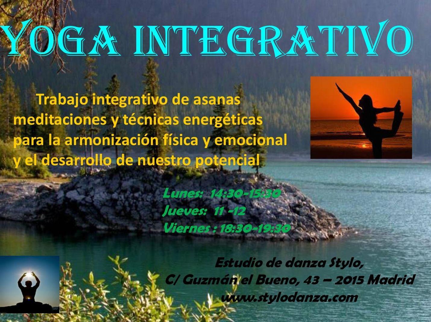 Yoga :  Horarios y disciplinas de Estudio de Danza Stylo