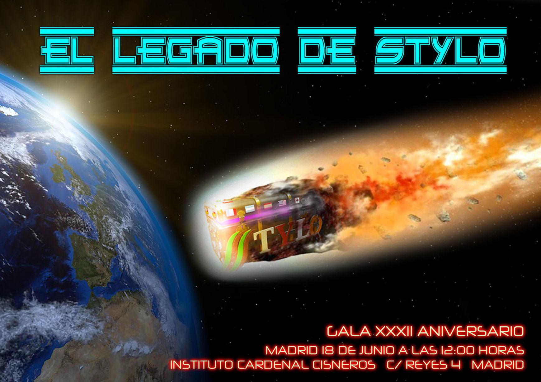 """""""EL LEGADO DE STYLO"""", nueva creación intergaláctica"""