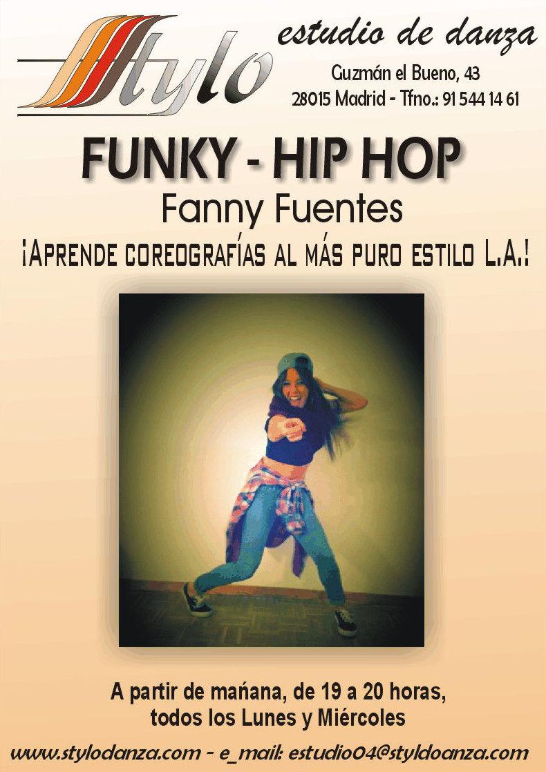 ¡Mañana comenzamos grupo de Funky - Hip Hop