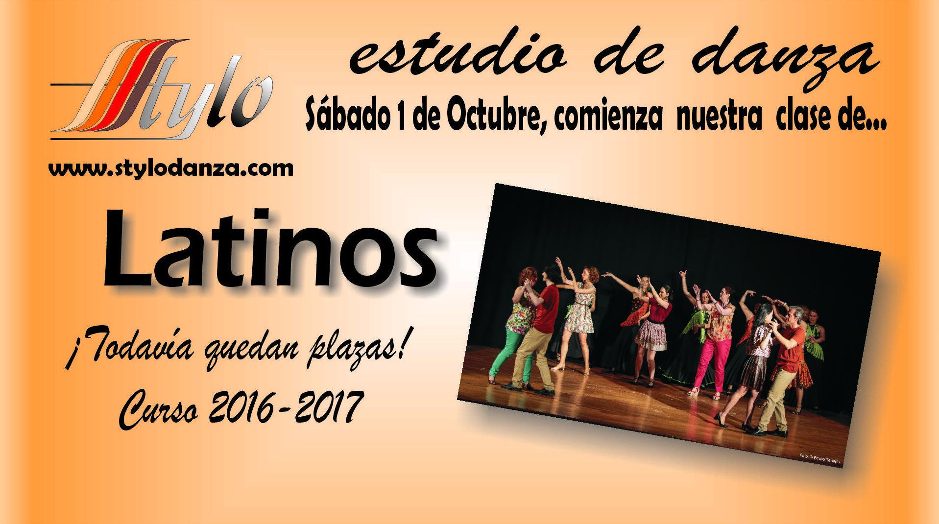 Clase de iniciación a los ritmos Latinos este sábado