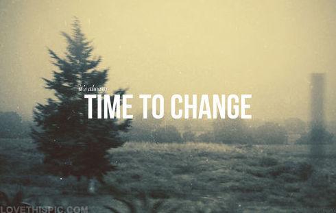 Cambios de tiempo