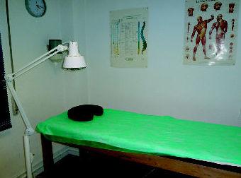 Sala auxiliar de tratamiento