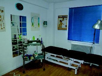 Sala principal de tratamiento