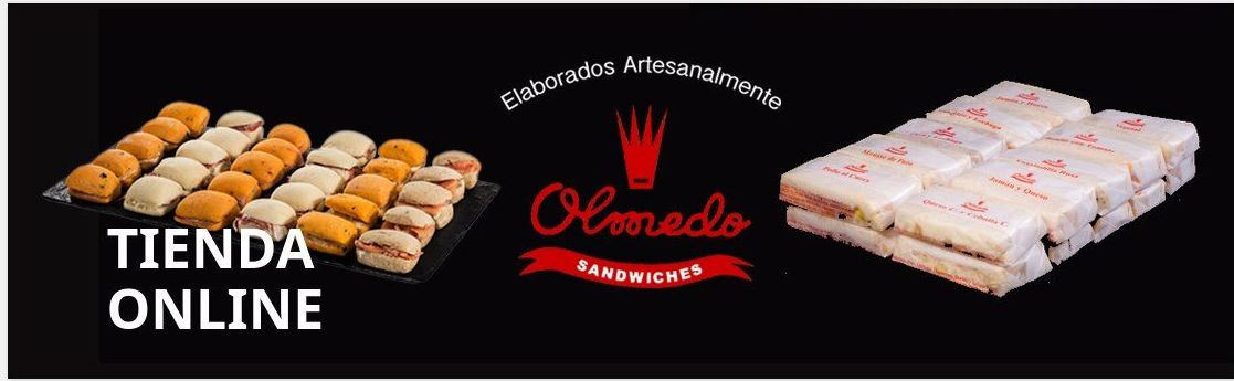 Nueva Tienda On-line: Catalogo Productos y Servicios de Catering Sándwiches Olmedo