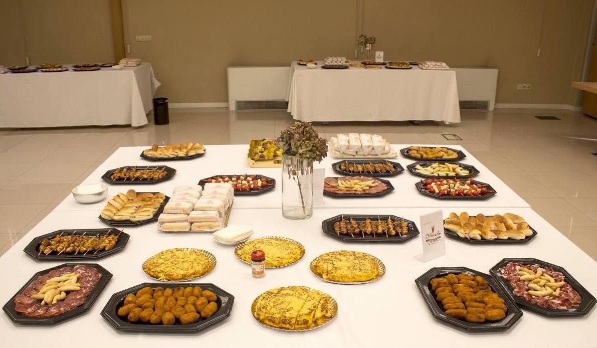 Envio: Catalogo Productos y Servicios de Catering Sándwiches Olmedo