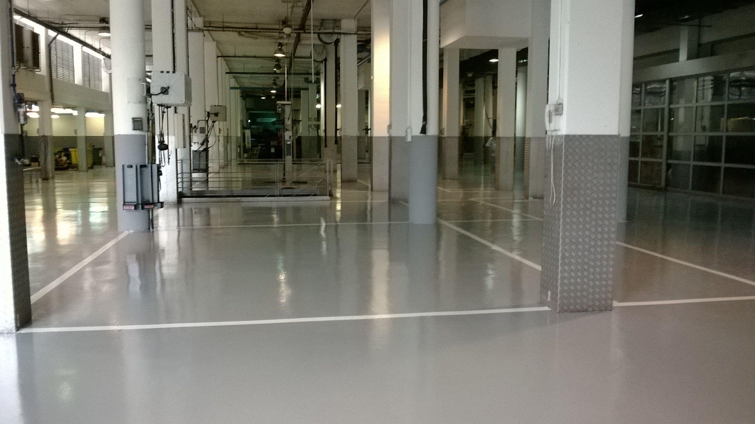 Pavimentos para industrias