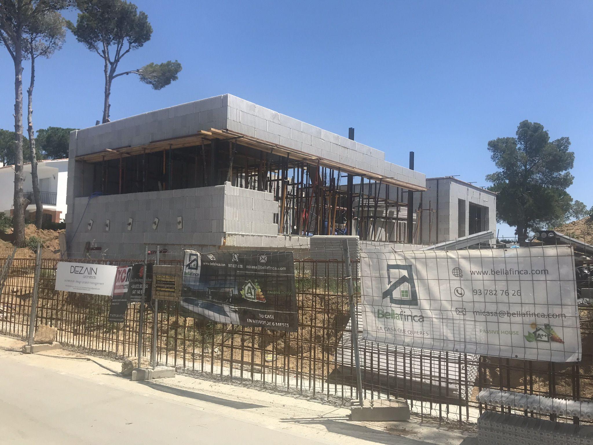 Construcción de obra nueva en Cataluña