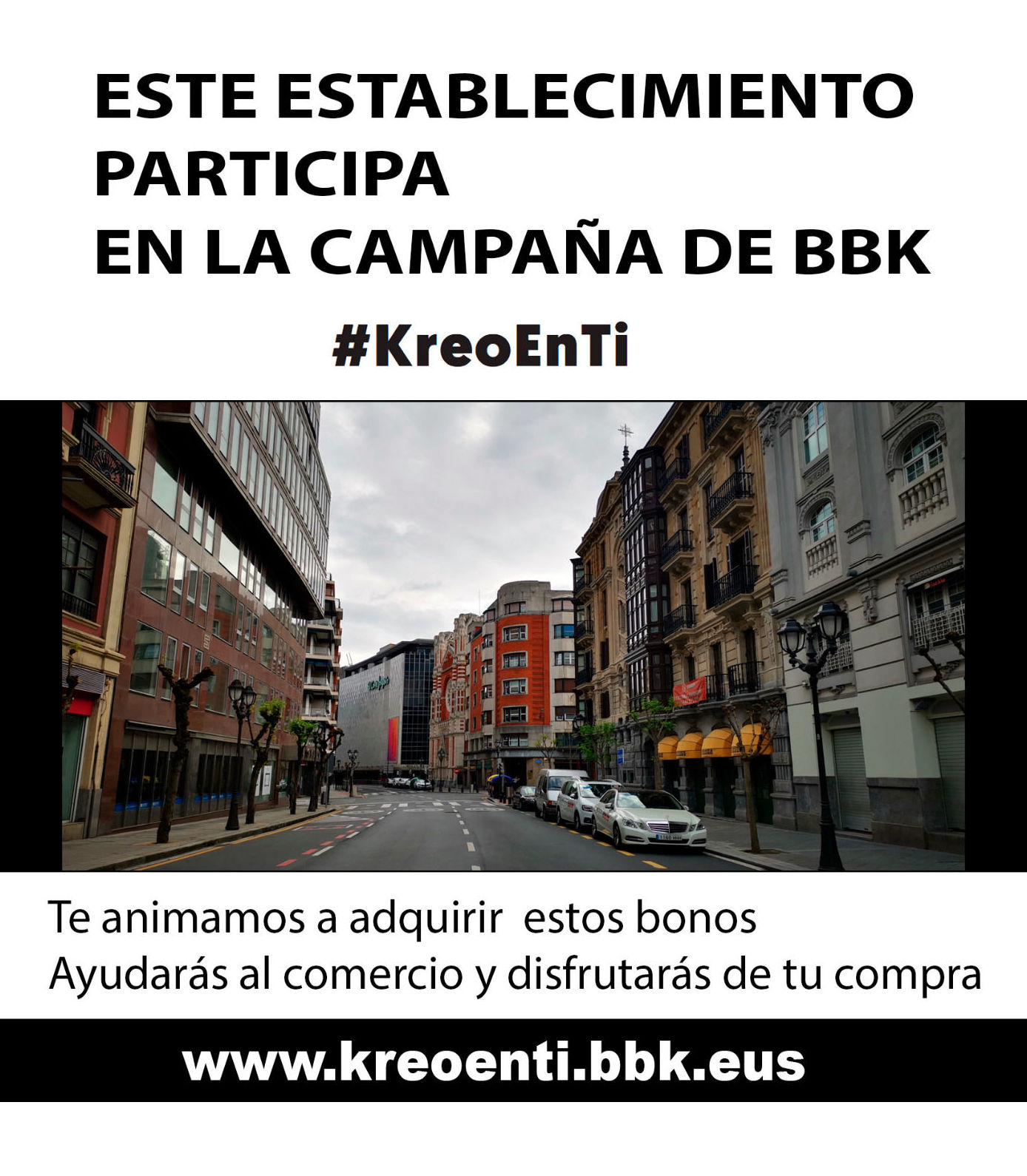 Bonos Kreoenti en Bilbao