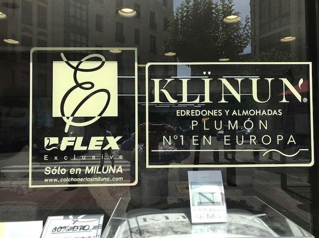 Almohadas de plumón en Bilbao