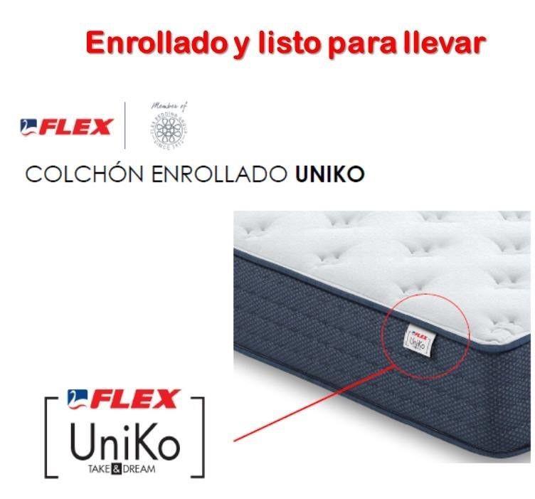 Colchón enrollado Uniko en Bilbao