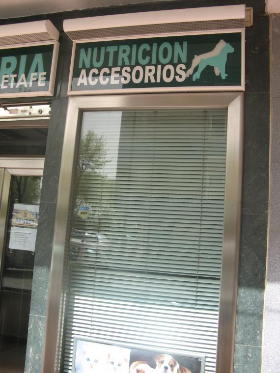 Clínica veterinaria Getafe\u003DAccesorios y Nutrición