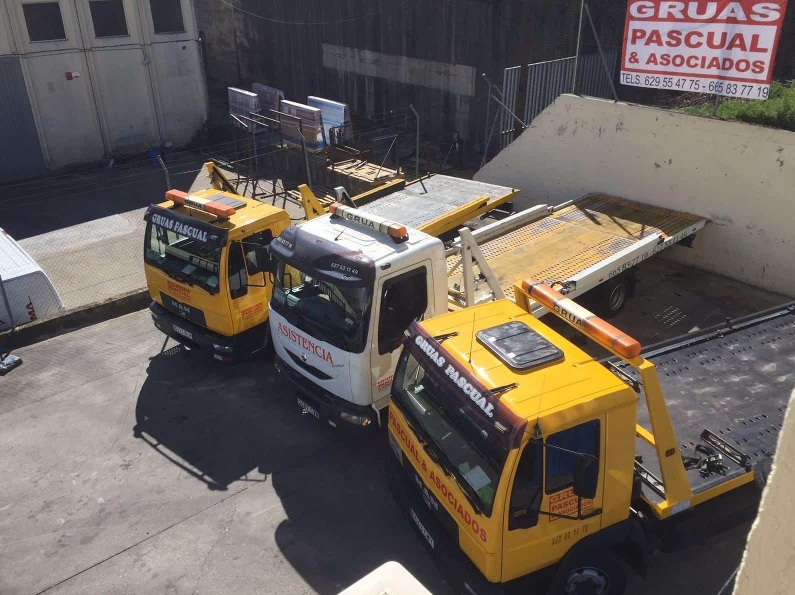 Amplia flota de vehículos