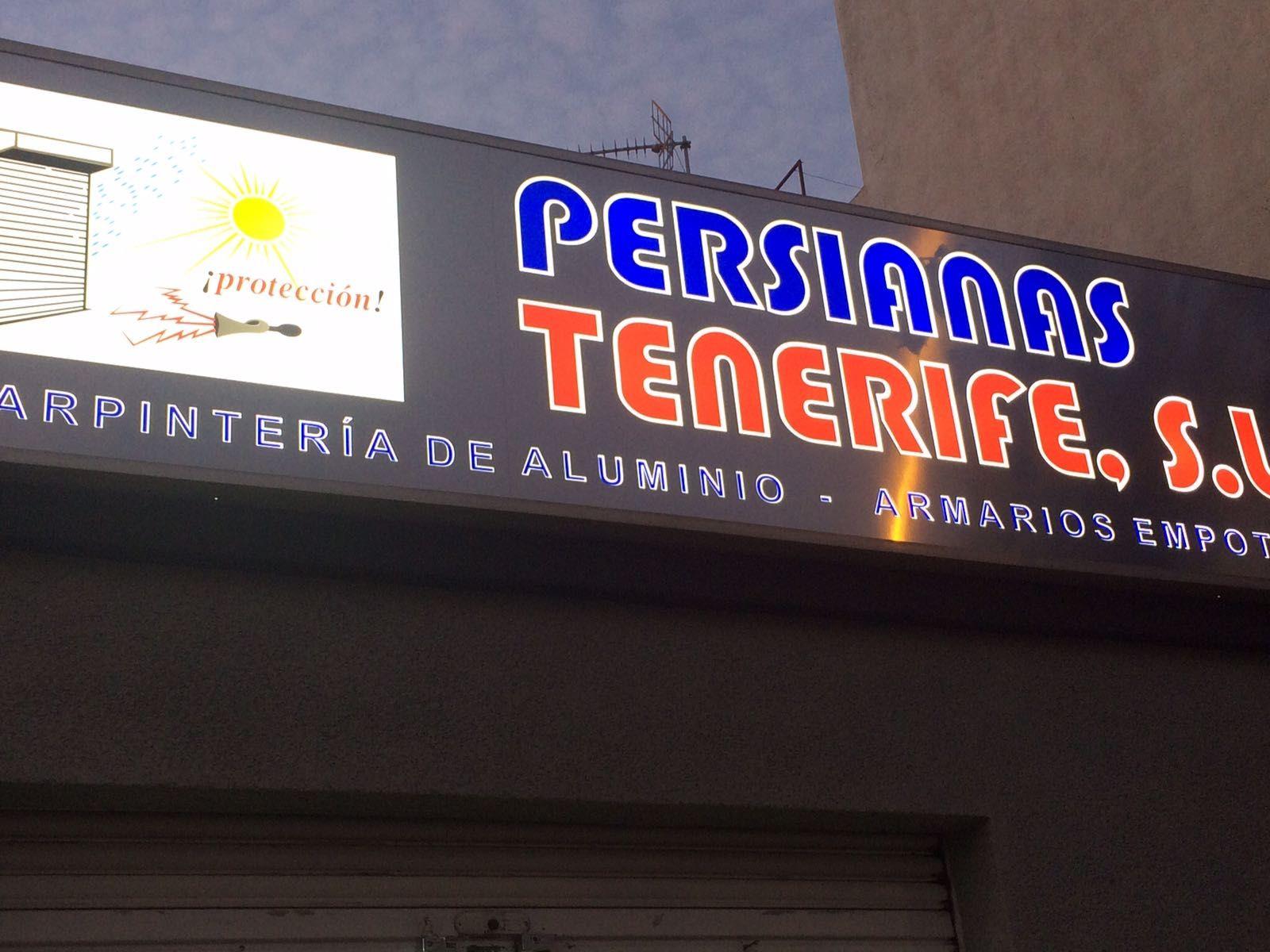Carpintería de aluminio en Tenerife