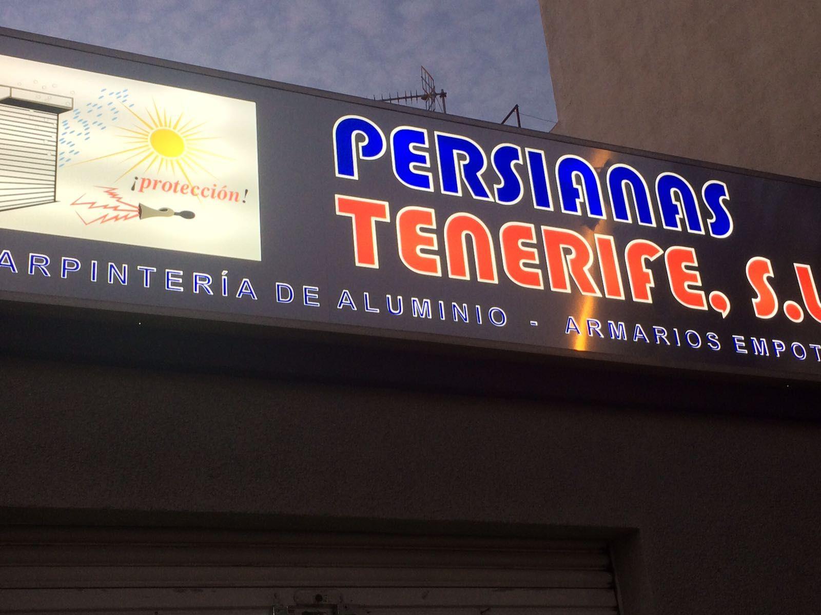 Empresas de persianas en Tenerife