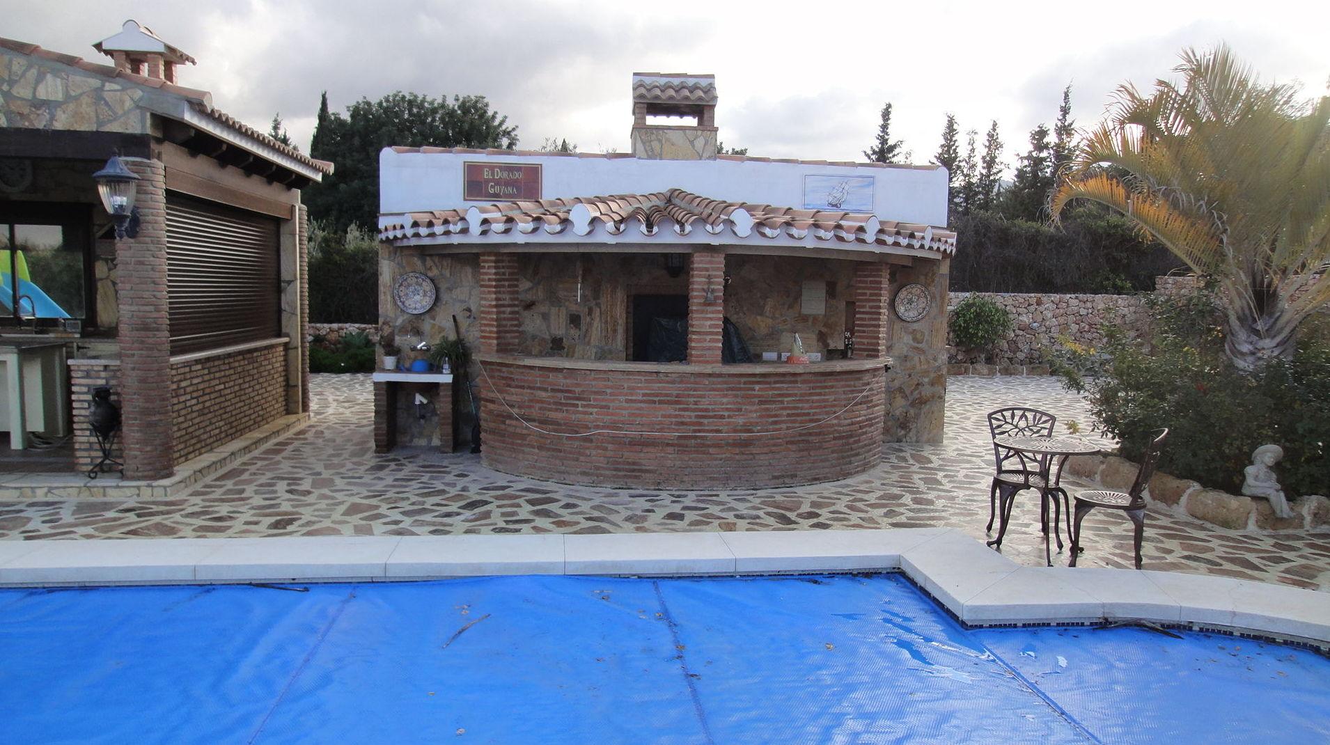 Barra de bar para piscina
