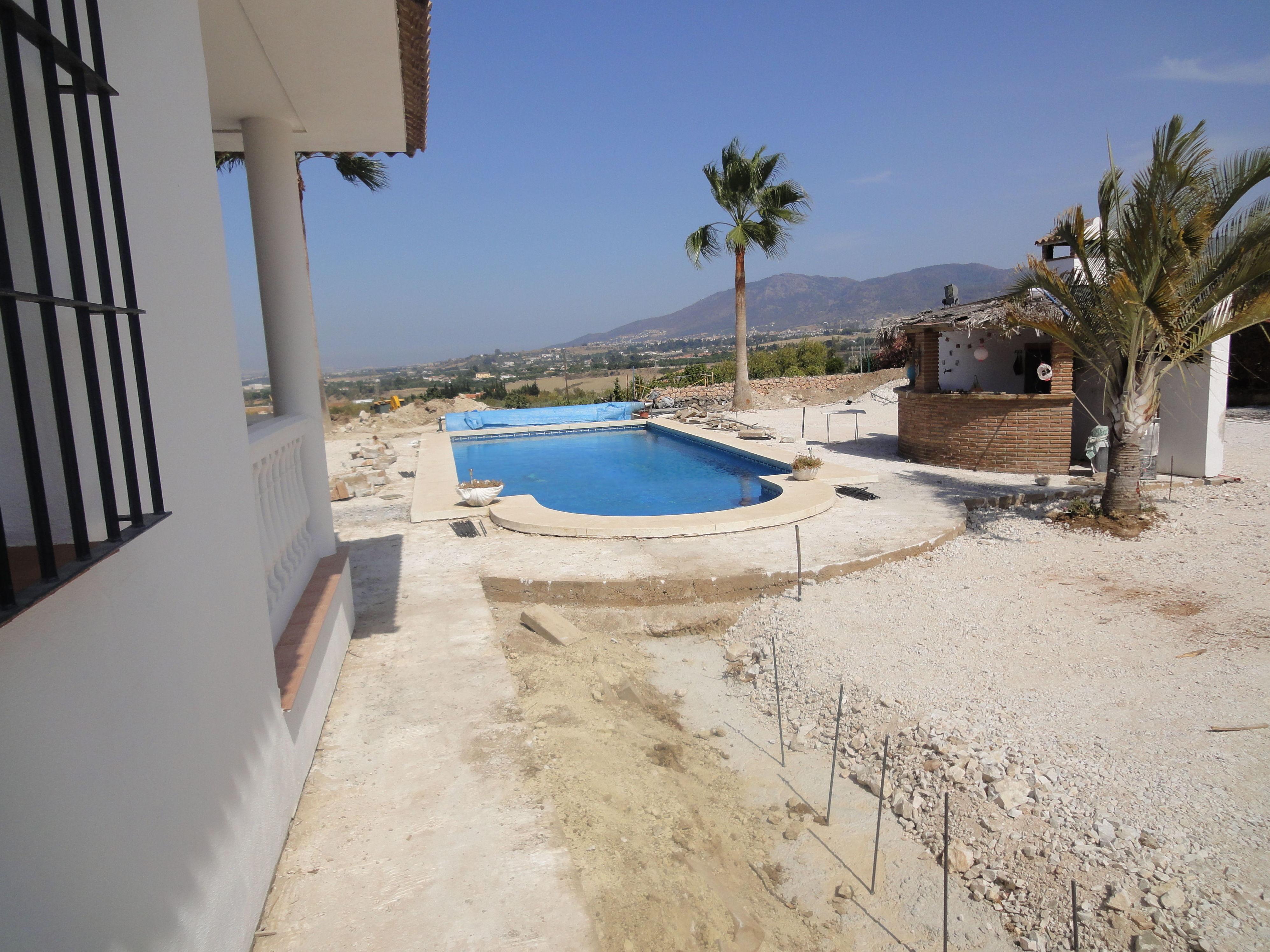 Realización de jardín en Málaga