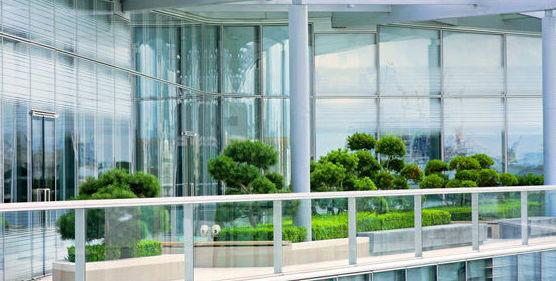 Jardines en terrazas