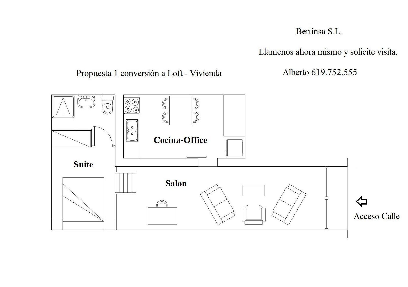 CIUTAT VELLA - Mercat Santa Caterina 135.000€: Visita nuestras inmuebles de Bertinsa Real Estate, Investments & Sale Services