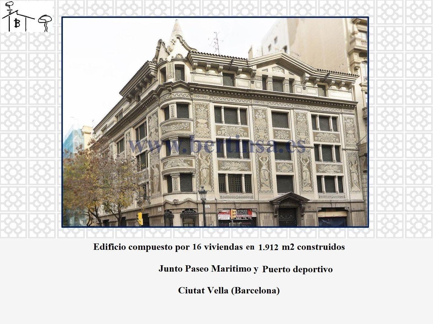 Edificio en Ciutat Vella junto paseo Maritimo 16.570.000€: Visita nuestras inmuebles de Bertinsa Real Estate, Investments & Sale Services