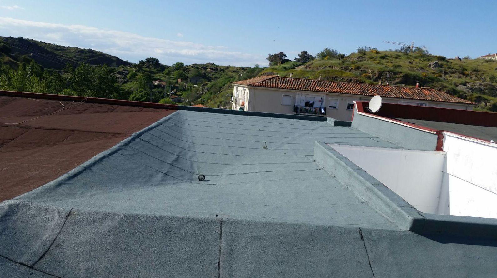 Reformas de cubiertas con tela asfáltica en Ávila