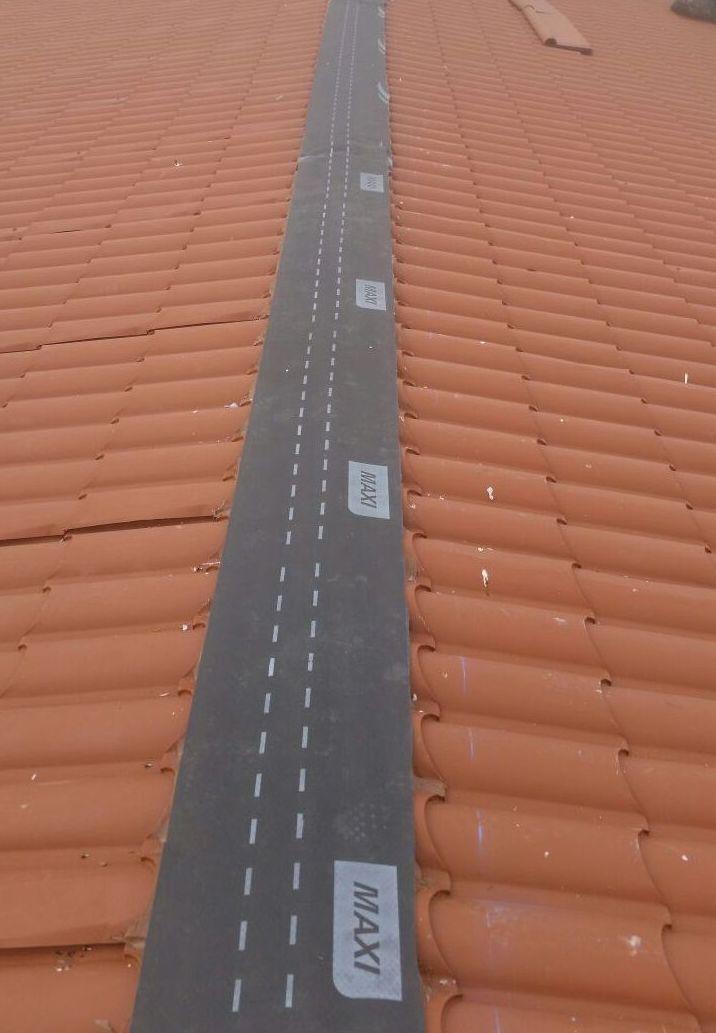 Instalación de panel Coppo para cubierta