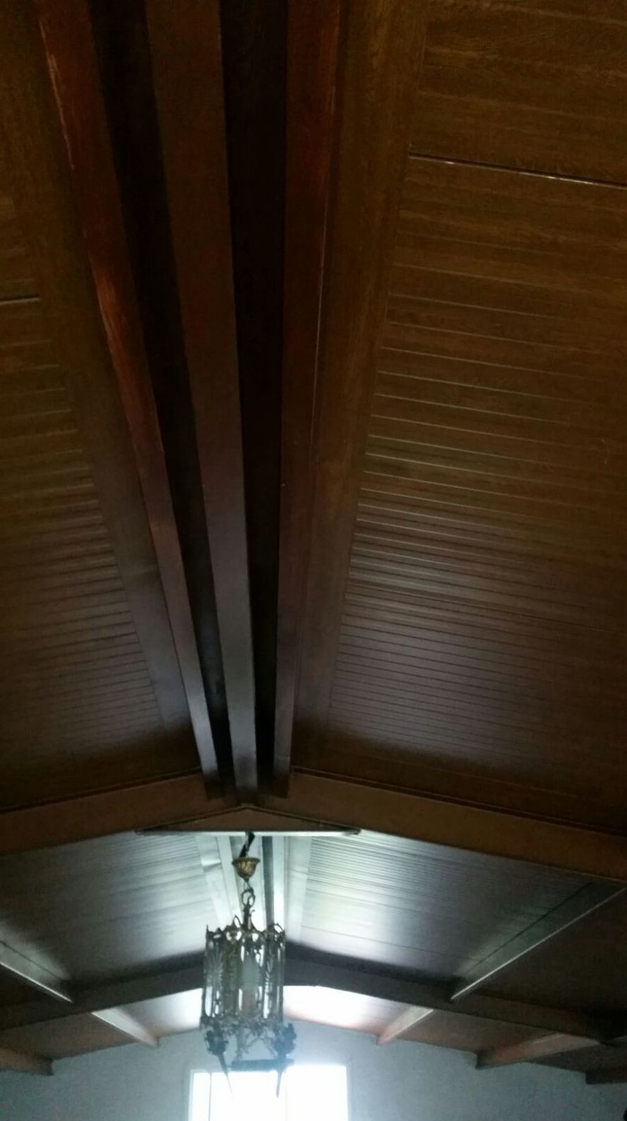 Panel Coppo de imitación a madera