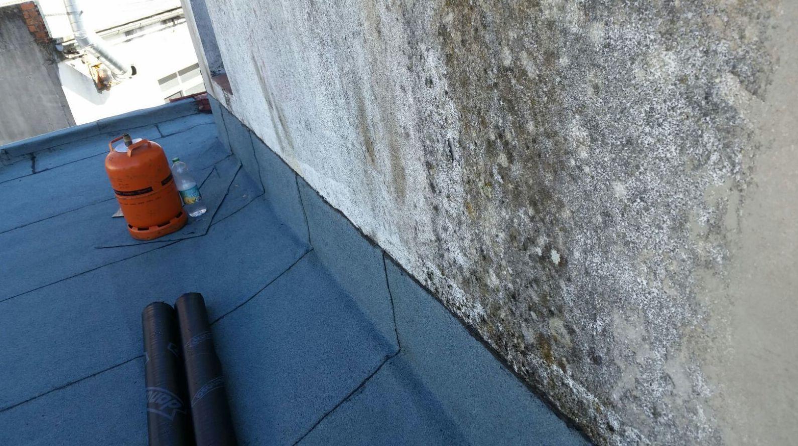 Instalación de tela asfáltica para cubiertas en Ávila
