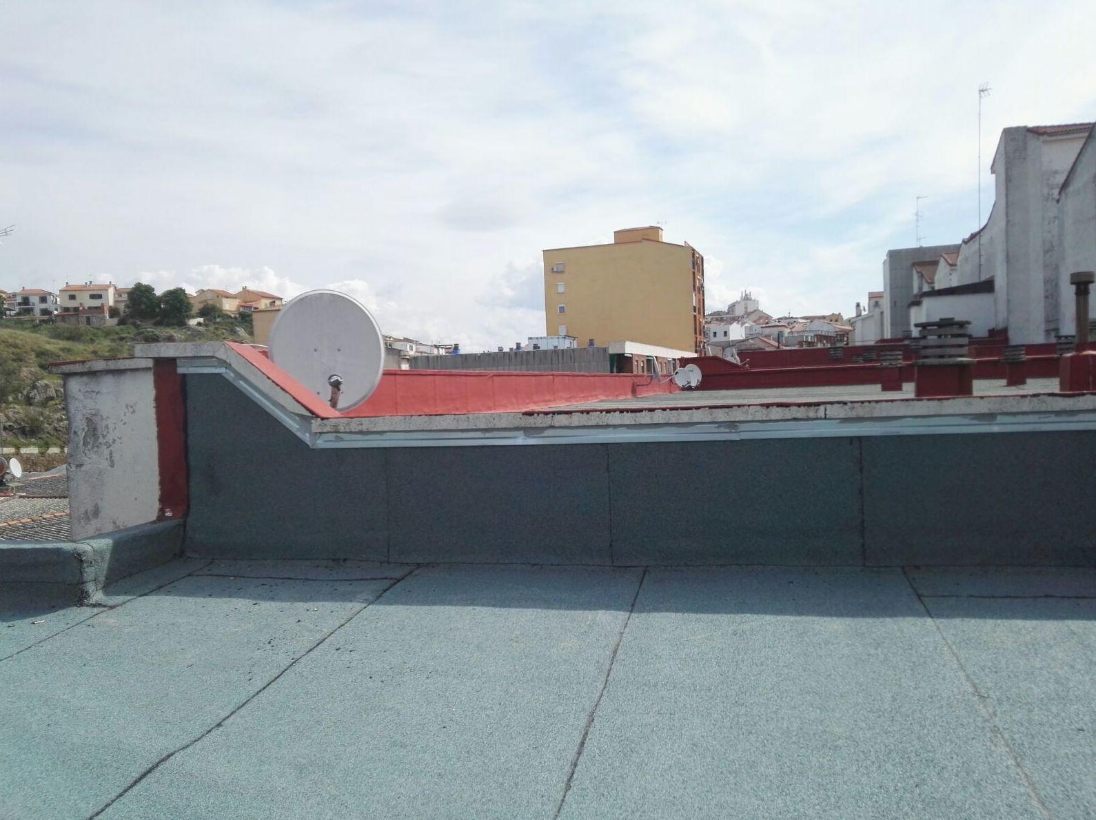 Reforma de cubiertas en Cáceres