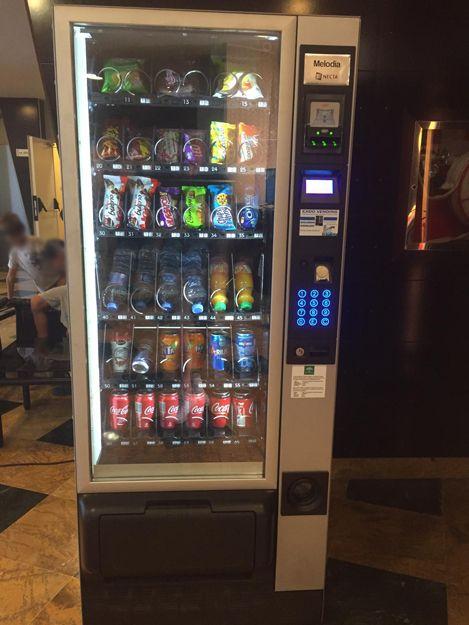 Máquinas vending de snack y refrescos en Almería