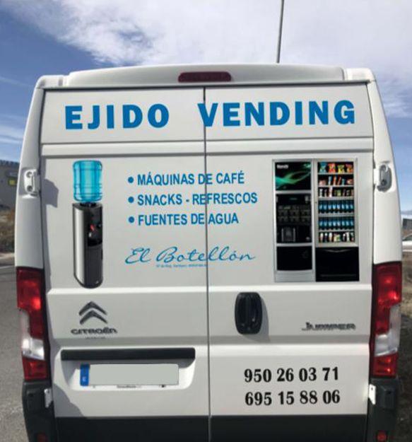 Empresa de máquinas vending de café, snack, refrescos y agua en Almería