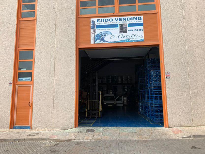 Instalación y vending de café, snack, refrescos y agua en Almería