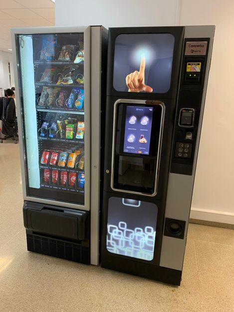 Máquinas vending en Almería
