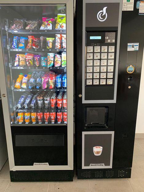 Instalación de máquinas vending de snack y refrescos en Almería