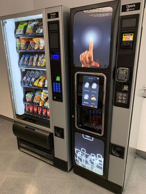 Instalación de máquinas vending en Almería