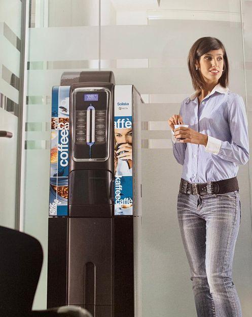 Instalación de máquinas vending de café en Almería