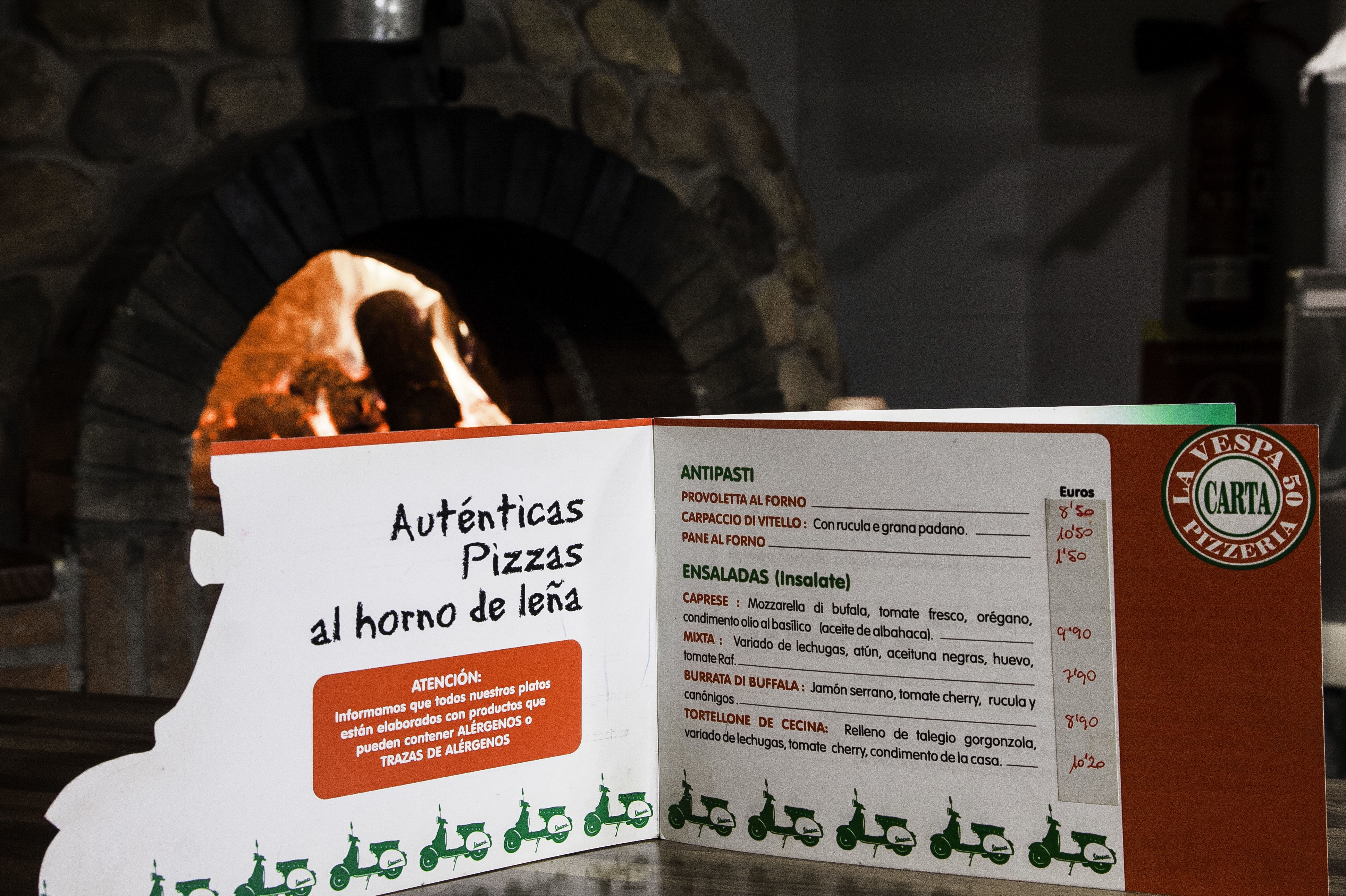 Autentica cocina Italianas, servicio a domicilio
