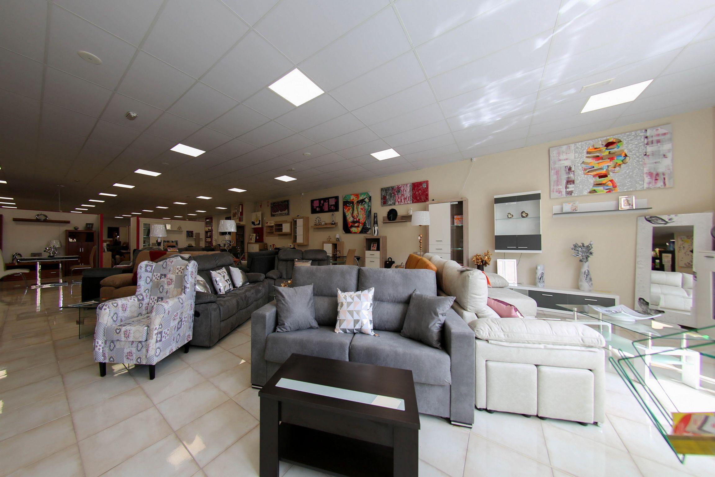 Tienda de sofás en Lleida