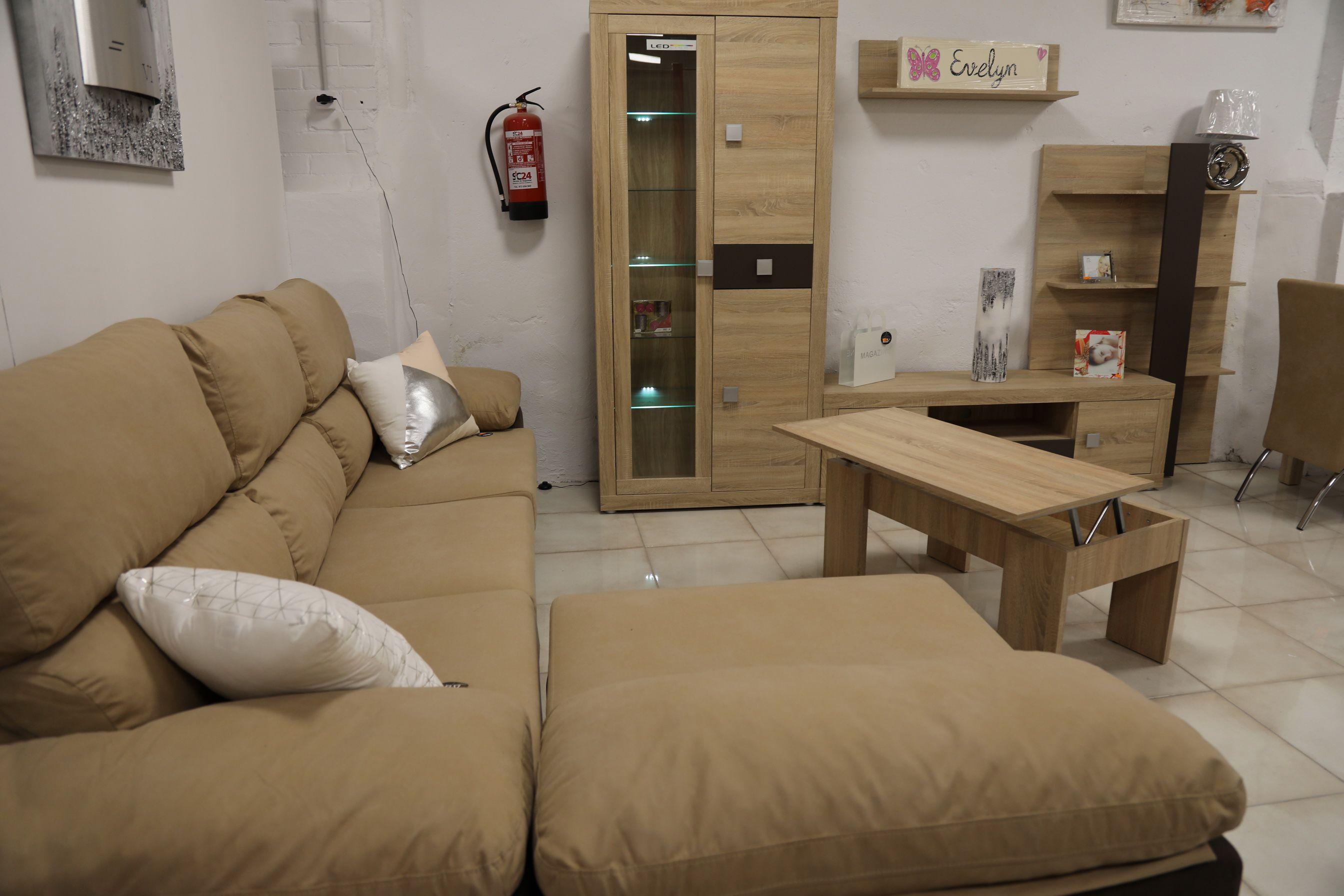 Venta de muebles de salón en Lleida