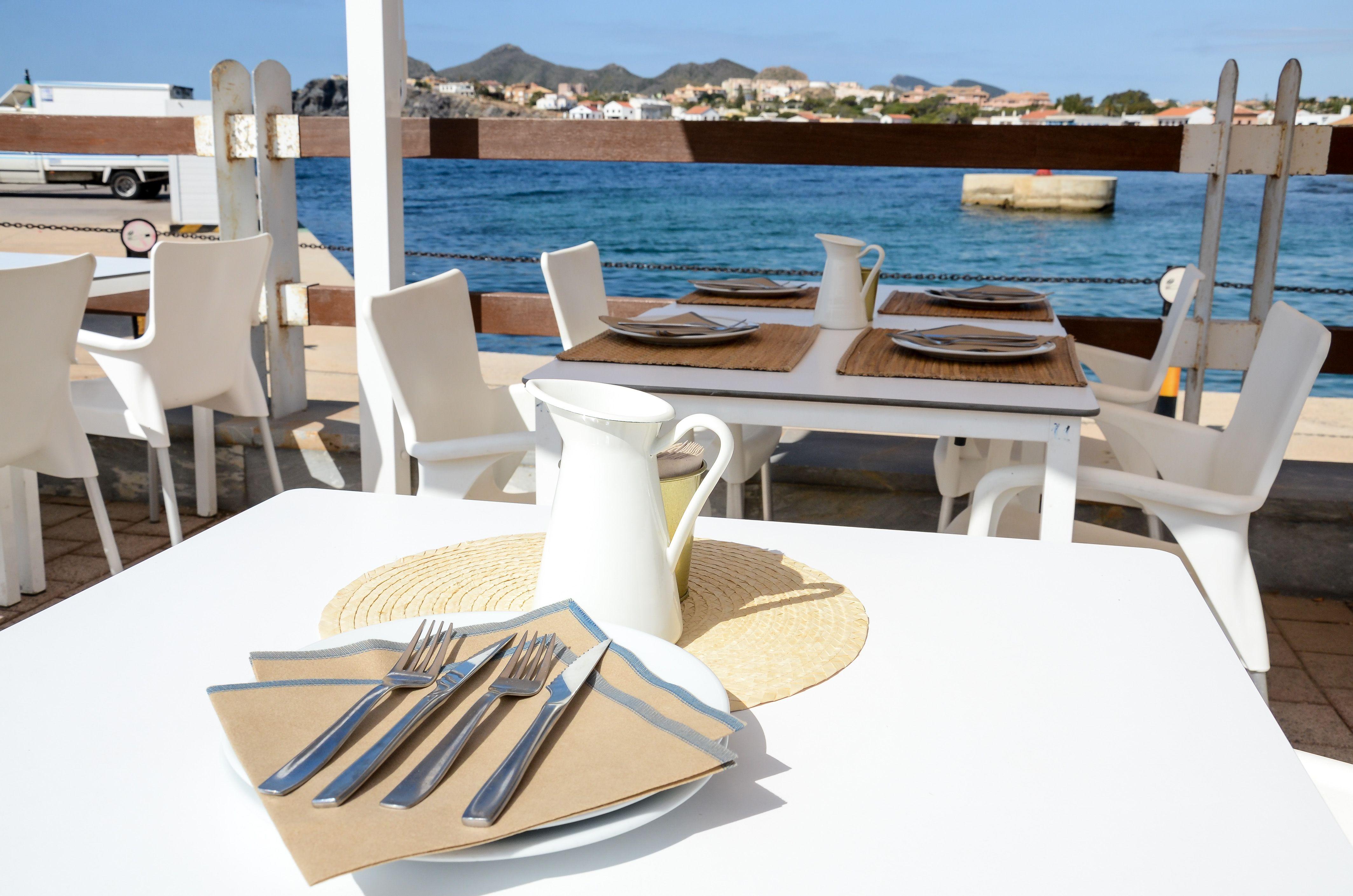 Restaurante con vistas en Cabo de Palos