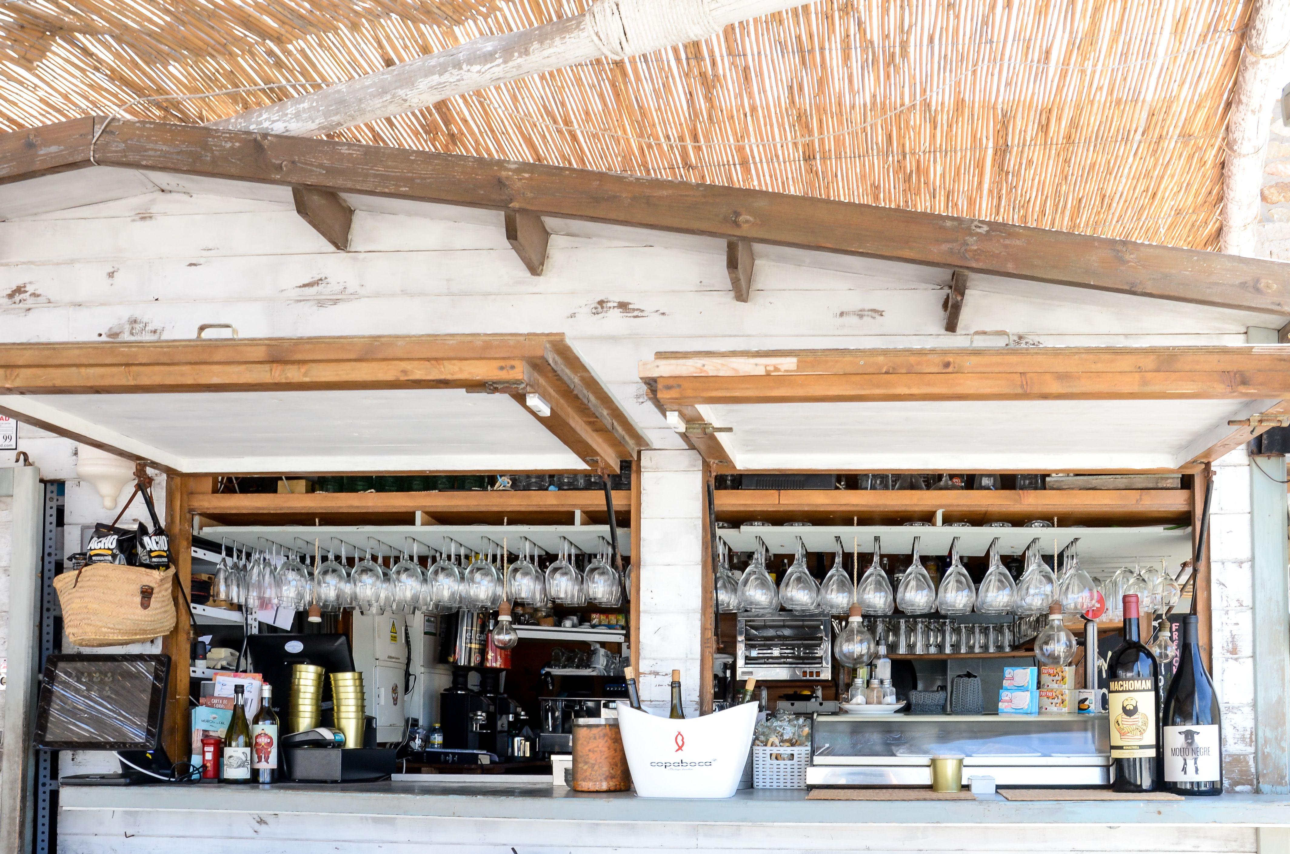 Cocktails y vinos en Cabo de Palos