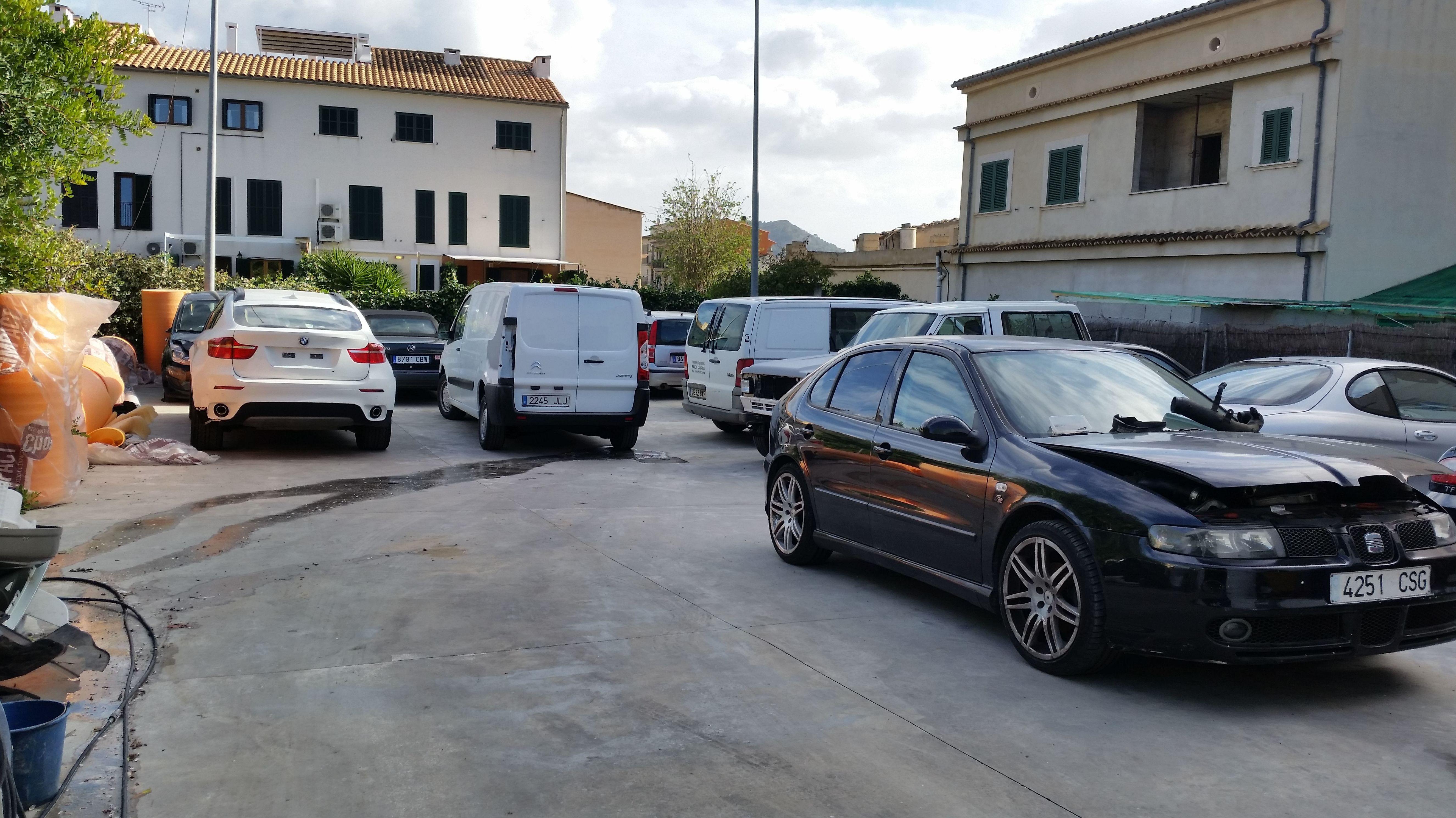 Foto 6 de Talleres de chapa y pintura en Alaró | Taller Joan