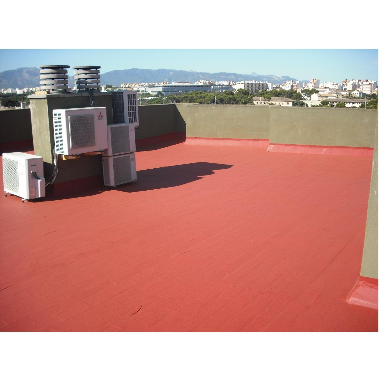 Impermeabilización de terrazas: Servicios de Pinturas Pinazo