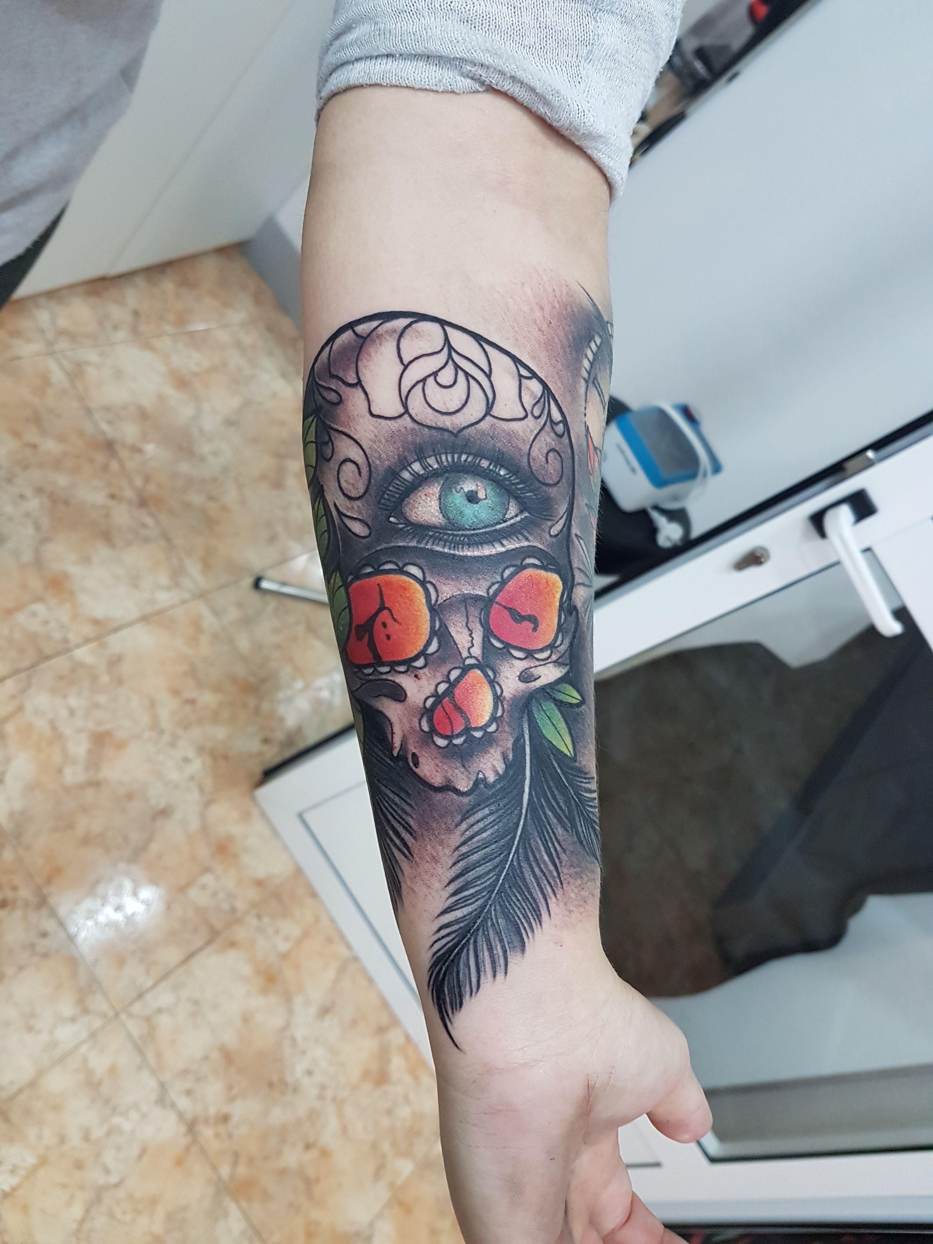 Foto 123 de Tatuajes en Cehegin | Skulls Lady Tattoo And Gallery